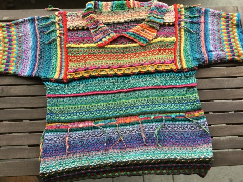 90's madness sweater set
