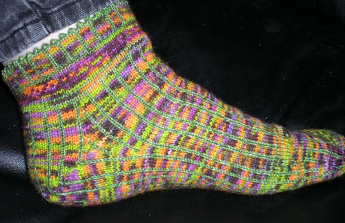 Prototype of Linear Progression ankle sock