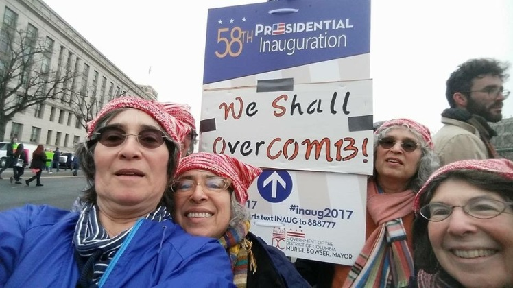 Washington Women's March selfie