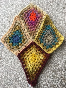 Granny Diamond pattern swatch