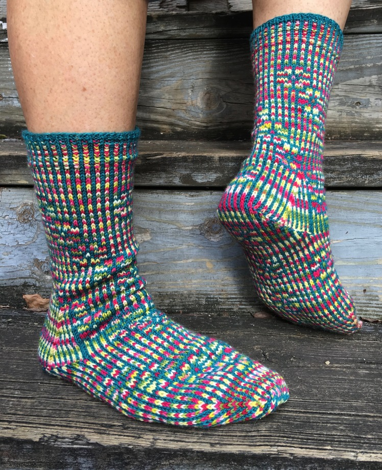Perfected version of Strong heel socks