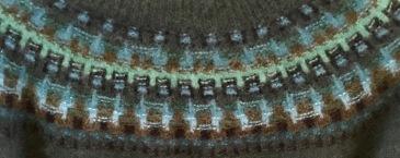 Bohus knitting yoke