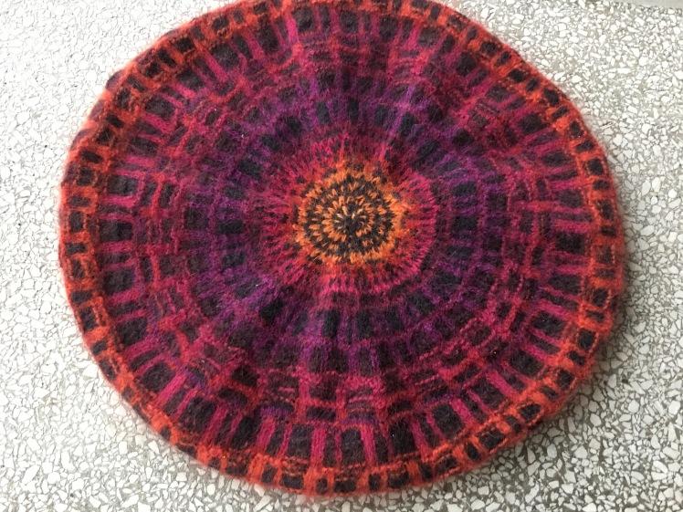 Bohus design in Grillwork Red Tam
